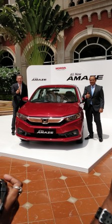 Unveiled by Mr Gaku Nakanishi, President & CEO, Honda Cars India Ltd