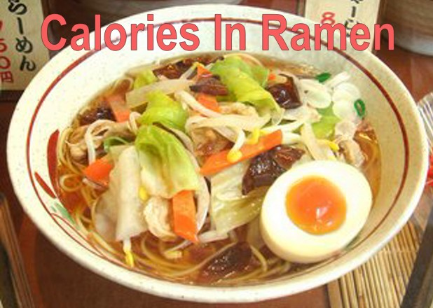 How many calories are in ramen noodles