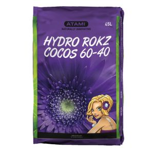 Hydro Rokz Cocos 45 L. 60Clay-40Coco Washed Steamed Aged Buffered