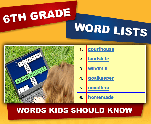 6th Grade Spelling Words For Free - The Best Home School Guide!!