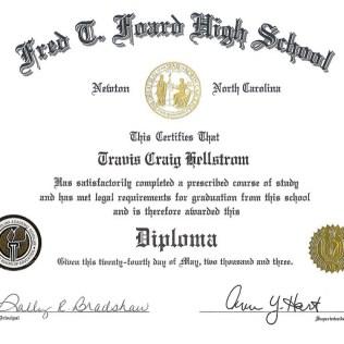 high school certificate of achievement template