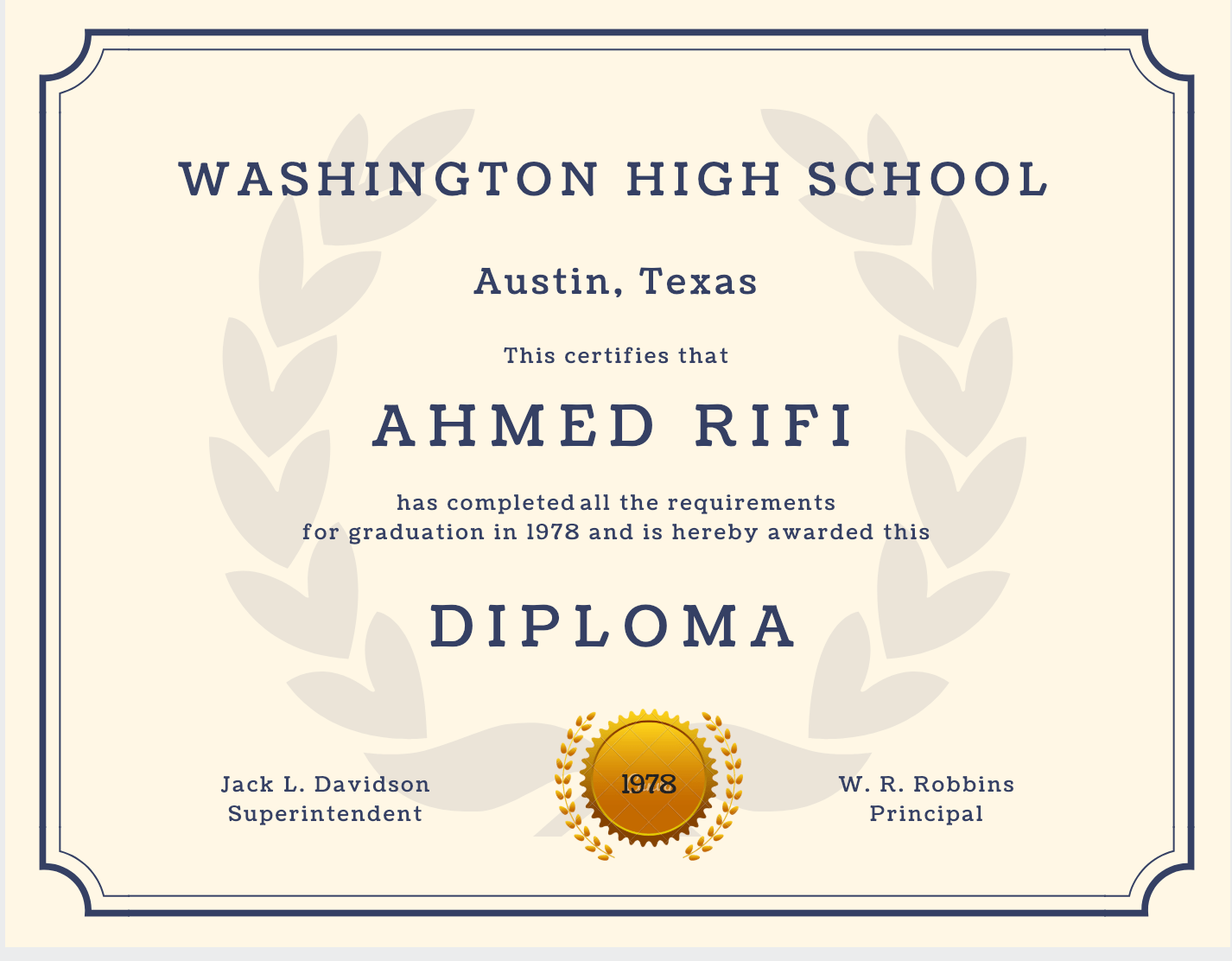 photograph relating to Printable High School Diploma identify 60+ Totally free Higher College Degree Template - Printable Certificates!!