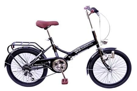 ラグジュリアス206折りたたみ自転車(色ブラック)【数量限定20台】