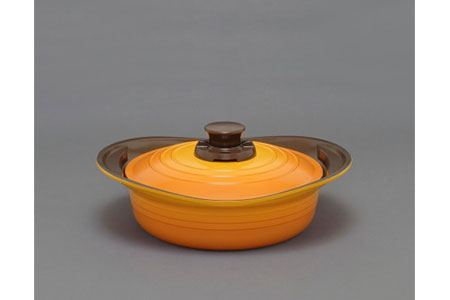 無加水鍋24㎝浅型 イエロー