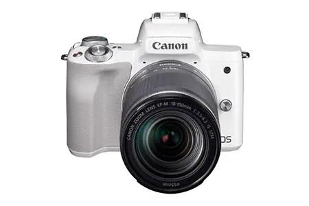 キヤノンミラーレスカメラ(EOS Kiss M EF-M18-150 IS STM レンズキット ・ホワイト)