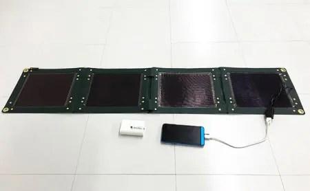折り畳み式ソーラーパネルと蓄電池【pocketGrid】1