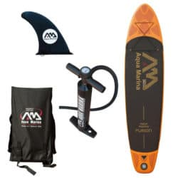 Aqua Marina Fusion 10'10″ Inflatable Paddle Board Review