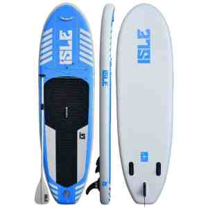 ISLE Airtech® 10′ Inflatable Stand Up Paddle Board Review