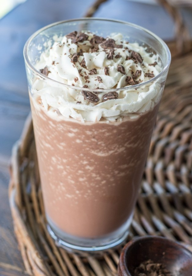 You won't believe how delicious this low carb Keto Mocha Frappuccino is! At just 3.7 net carbs this keto Starbucks knockoff will be a new favorite!