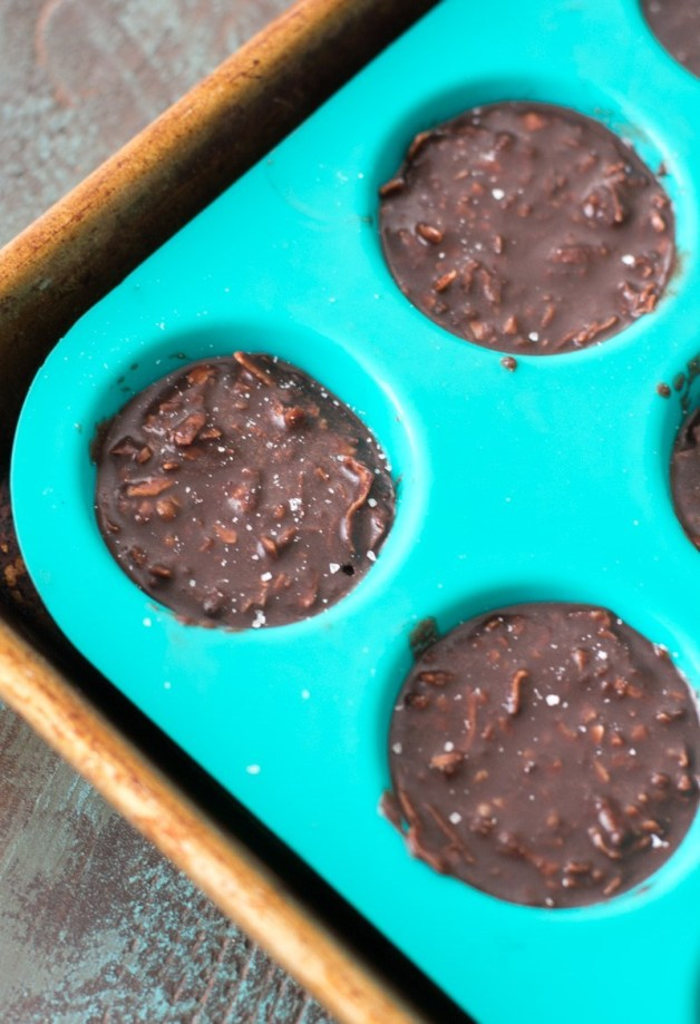 These fudgy Keto No Bake Cookies will remind you of classic no bake chocolate cookies without all the carbs! At just one net carb per cookie these sweet treats won't break your keto diet!