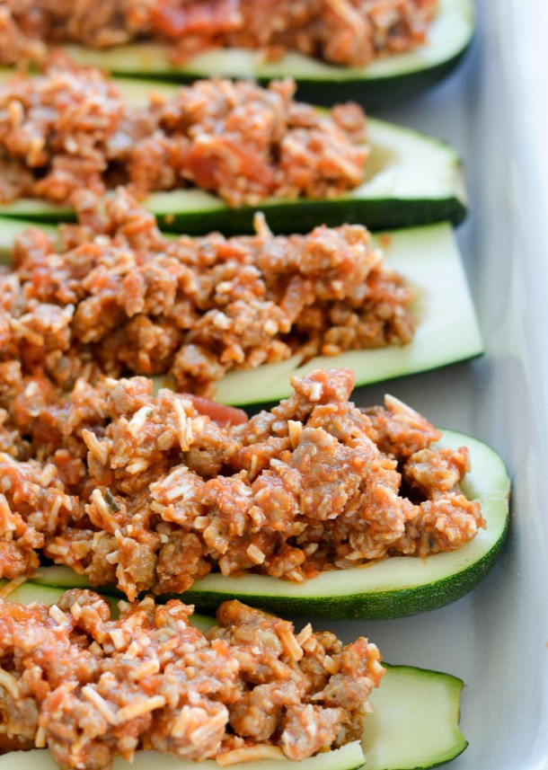 These easy Keto Pizza Zucchini Boats have about 2 net carbs each and only 5 simple ingredients! This is the perfect way to satisfy those pizza cravings on a low carb diet!