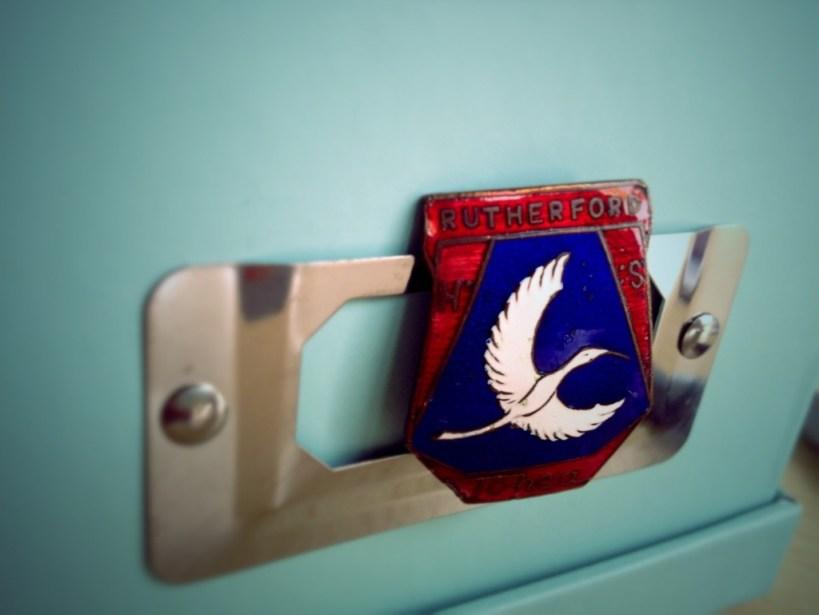 Rutherford High School Pin