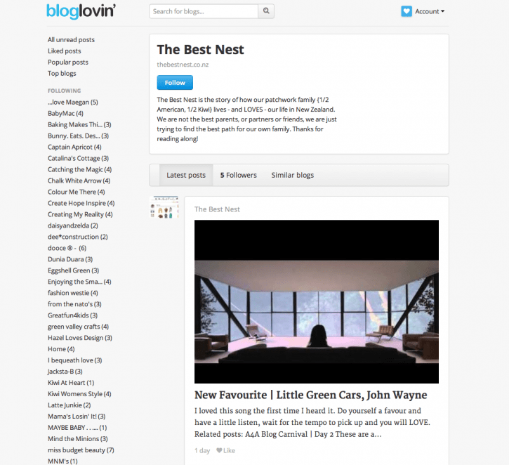 The Best Nest on Bloglovin'