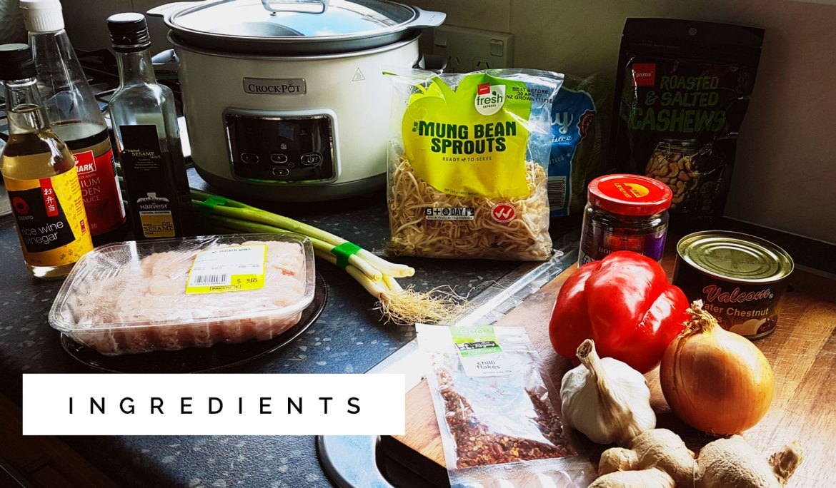New Zealand's Top Mummy Blogger Parenting Travel Blog Family Travelblog crock-pot crockpot slowcooker asian chicken lettuce wraps recipe