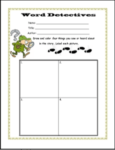 Free Language Arts Lesson Literacy Worksheets For Any