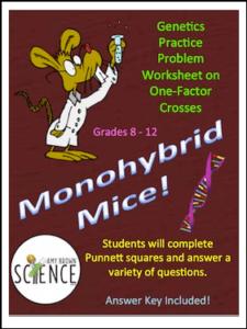 Free Science Lesson Monohybrid Mice Monohybrid