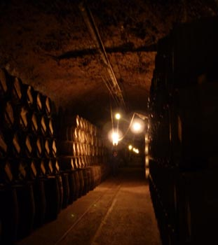 Lopez de Heredia cellars