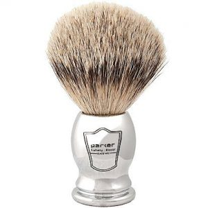 silver tip badger brush