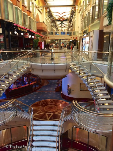 Freedom of the Seas common areas