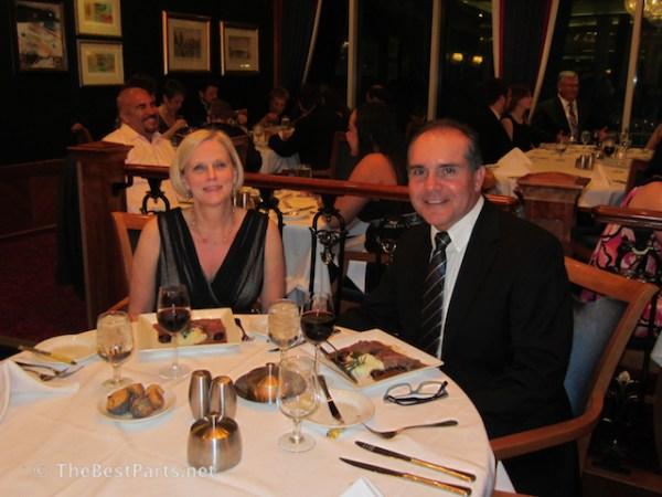 Freedom of the Seas formal dinner