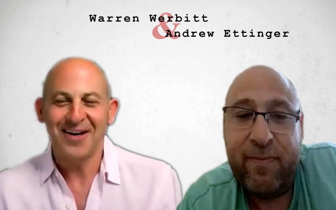 The Best Postcards CEO Andrew Ettinger Interviewed by Warren Werbitt