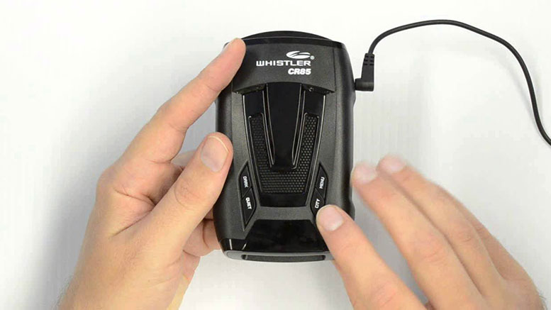 Review on the Whistler CR85 Radar Detector