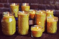 Waste Palm Cooking Oil as Candle Making Materials