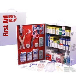3-Shelf First Aid Kit Cabinet