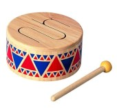 Plantoys solid drum Montessori toys for 6 months old