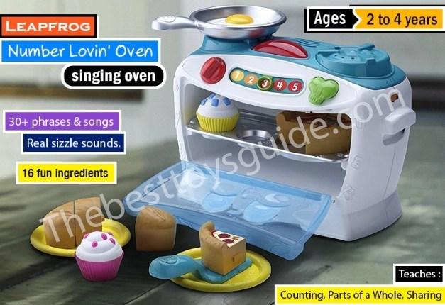 LeapFrog Number Lovin' Oven among Best learning toys for 4 year old boy