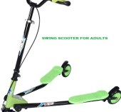 swing scooter for adults