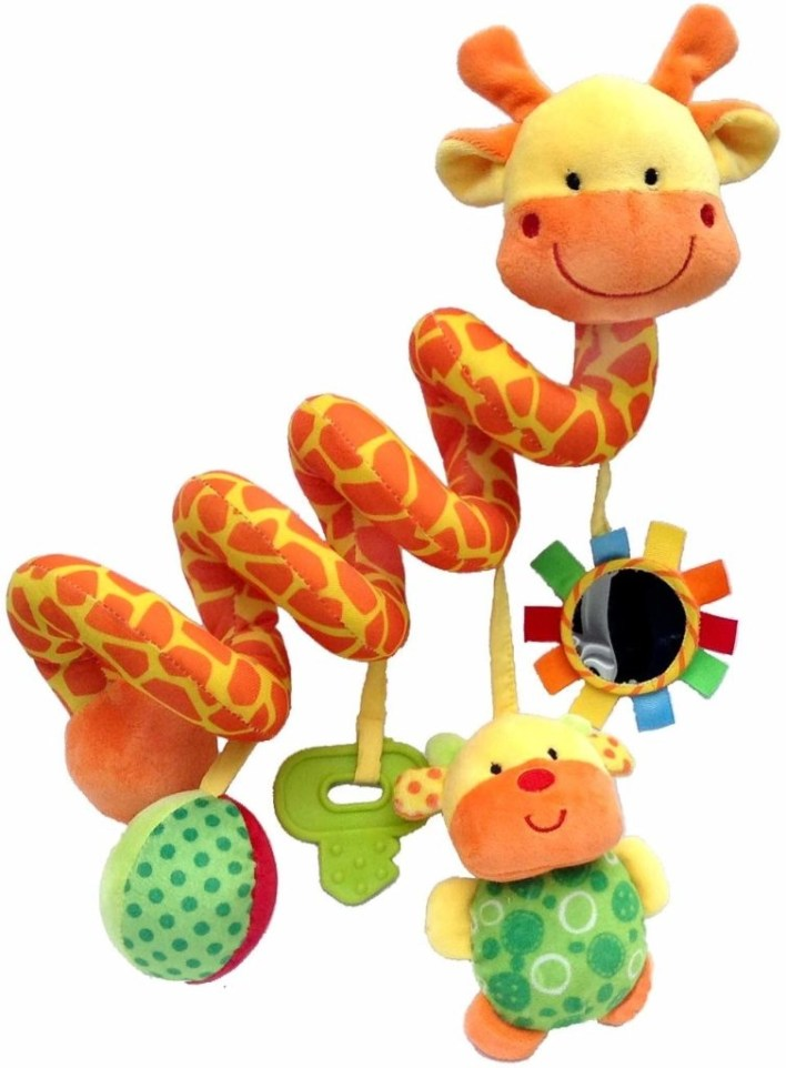 Crib Critters Giraffe Baby Crib Toy