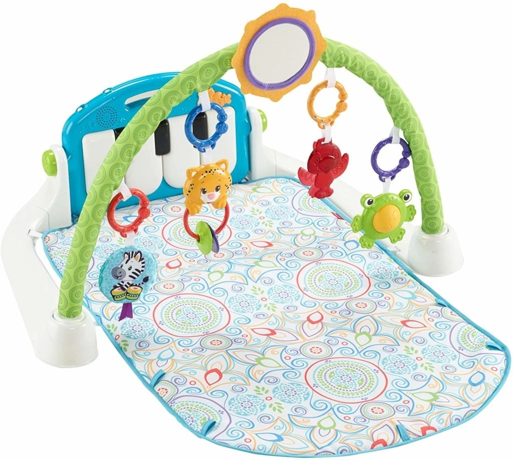 Fisher price first step kick n play