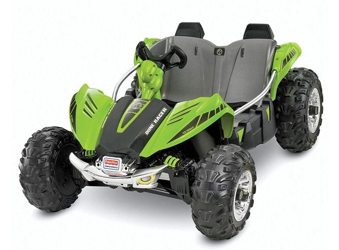 power wheels dune racer red blue green review