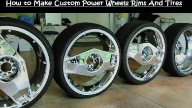 How to Make Custom Power Wheels Rims And Tires