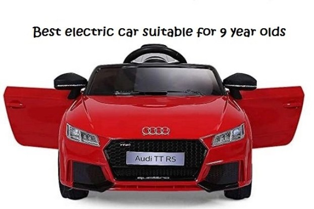 best electric car suitable for 9 year olds