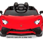 electric cars for 12 year olds