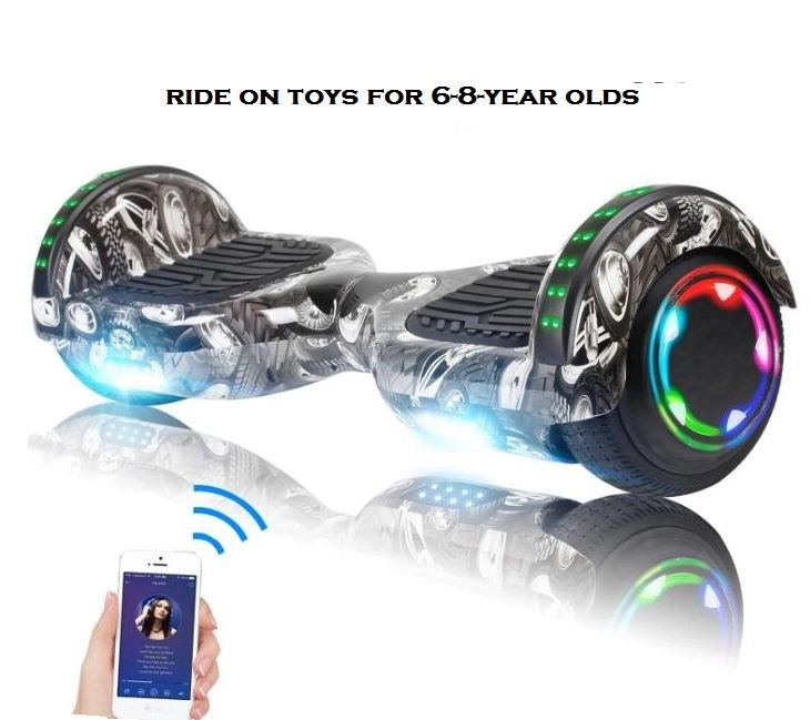 ride on toys for 6-8 year olds