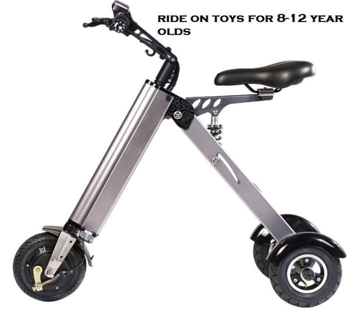 ride on toys for 8-12 year olds