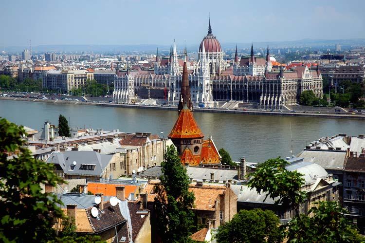 Vieuw of Budapest, Hungary