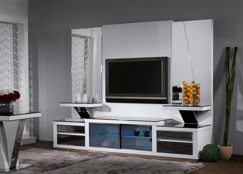 Tv Feature Wall Design Ideas Thebestwoodfurniture Com