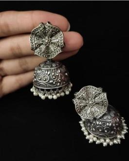 Flower shaped Jhumka