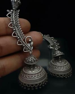 Long jhumka bugadi