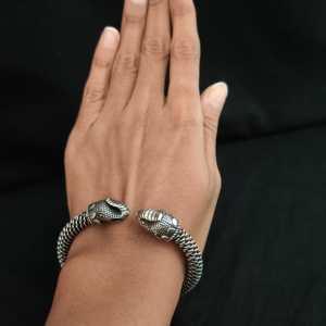 Elephant Silver Look Alike Bracelet