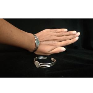 Adjuatable Silver Look Alike Bracelet