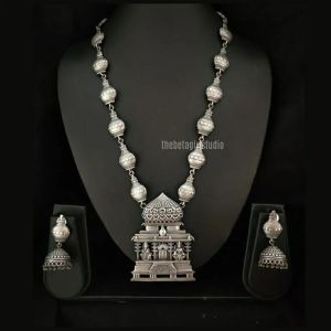 Goddess Silver Look Alike Necklace