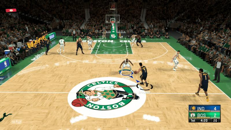 NBA 2K21 Main Game play.
