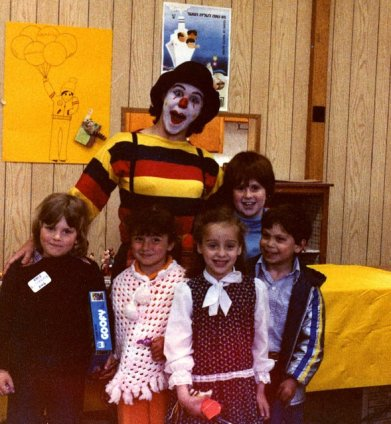 Clown with the Children