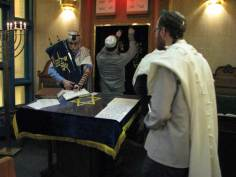 Taking out the Torah