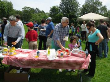 At the Lag B'Omer picnic